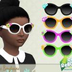 Солнцезащитные очки для девочек Симс 4