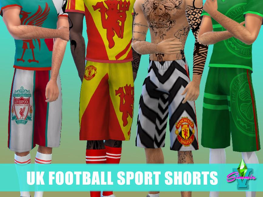 Спортивные шорты Симс 4