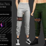 Спортивные штаны Симс 4
