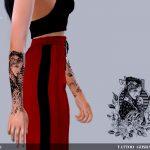 Татуировки для женщин Симс 4