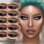 Тени для век FRS Eyeshadow N156 Симс 4