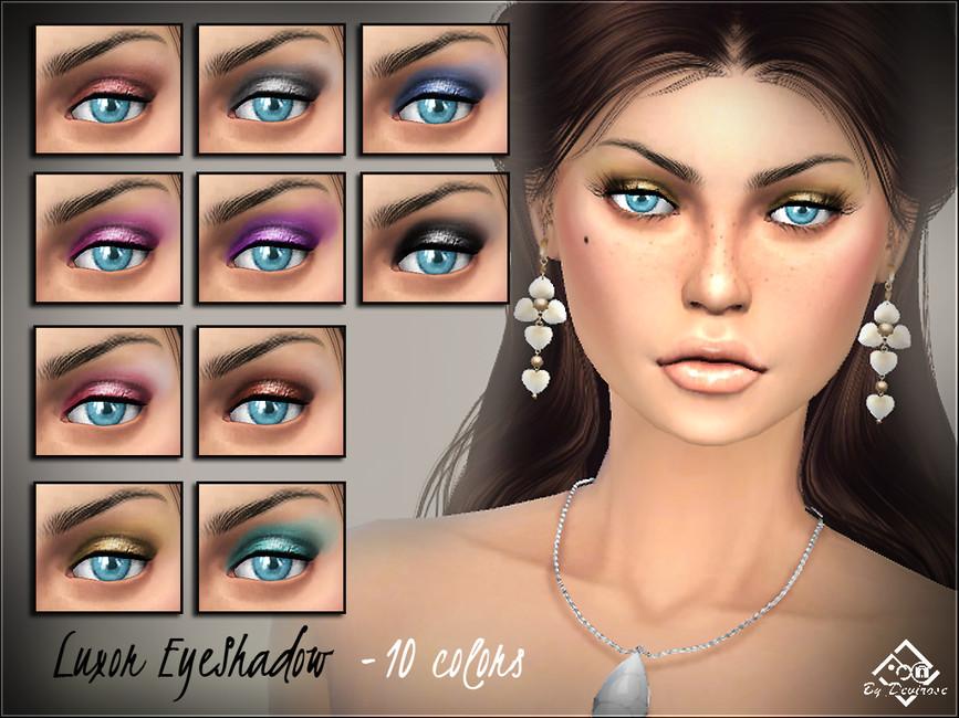 Тени для век Luxor Eyeshadows Симс 4