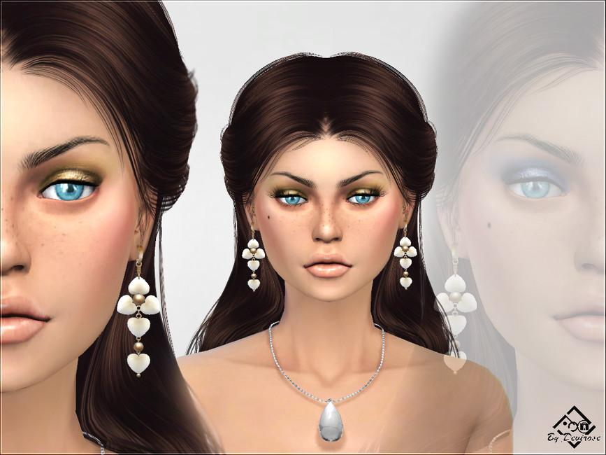 Тени для век Luxor Eyeshadows Симс 4 (картинка 2)