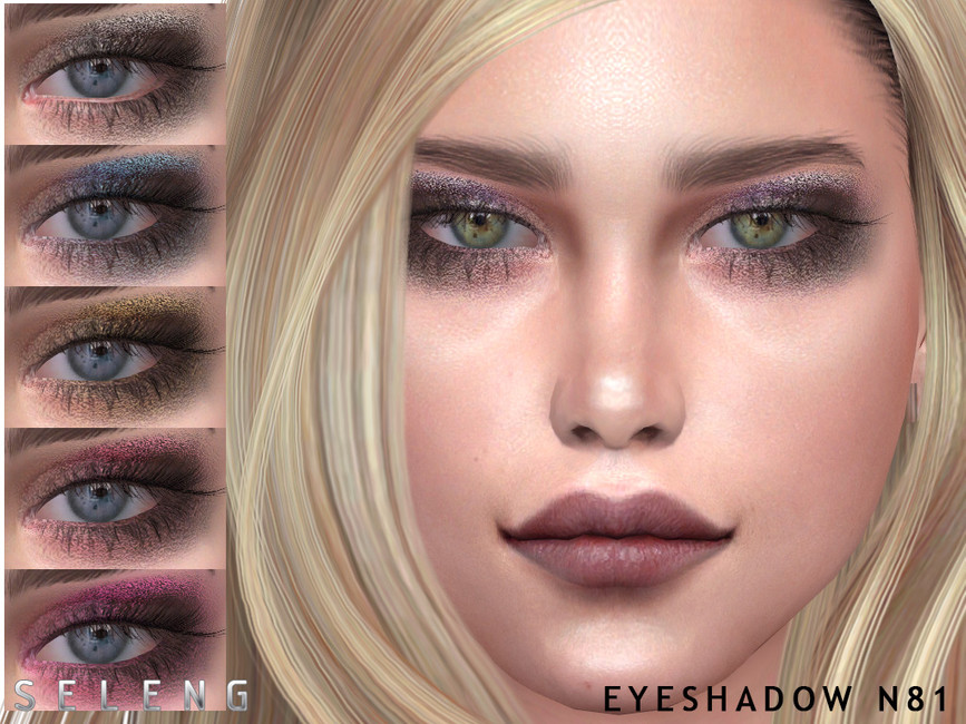 Тени Eyeshadow N81 Симс 4
