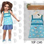 Топ для детей Top C345 Симс 4