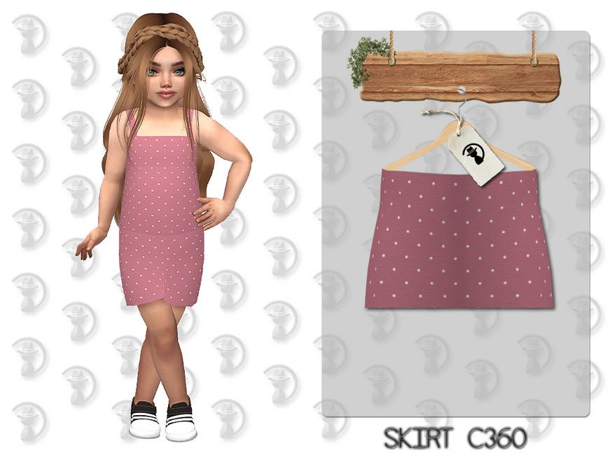 Юбка Skirt C360 Симс 4