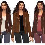 Женские куртки для Симс 4