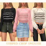 Женские свитера Симс 4
