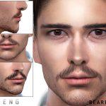 Борода Beard N79 Симс 4