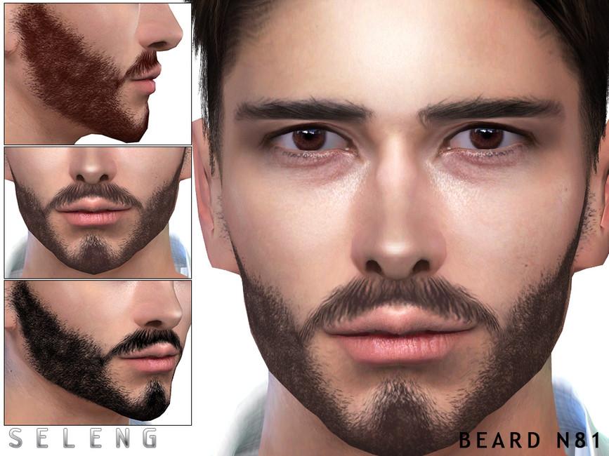 Борода Beard N81 Симс 4