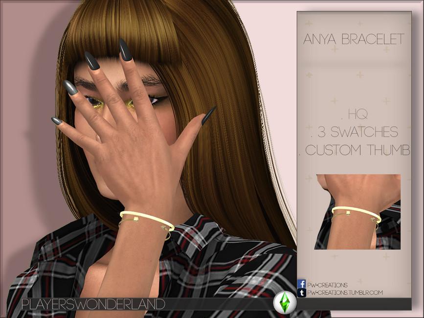 Браслет Anya Bracelet Симс 4