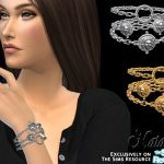 Браслет Coin Chain Bracelet для Симс 4