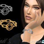 Браслет Roman Numeral Chain Bracelet Симс 4