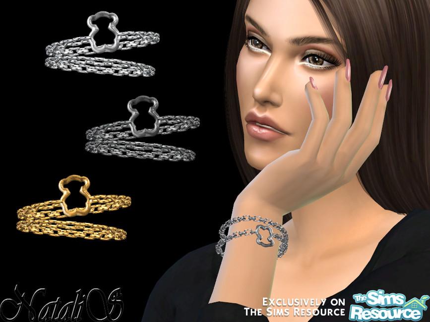 Браслет Teddy Bear Bracelet для Симс 4