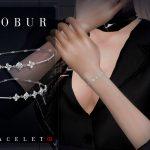 Браслеты Bobur Bracelet 03 Симс 4