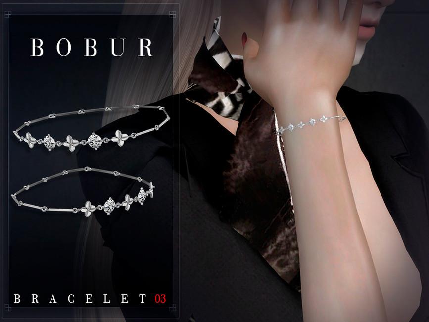 Браслеты Bobur Bracelet 03 Симс 4 (картинка 2)