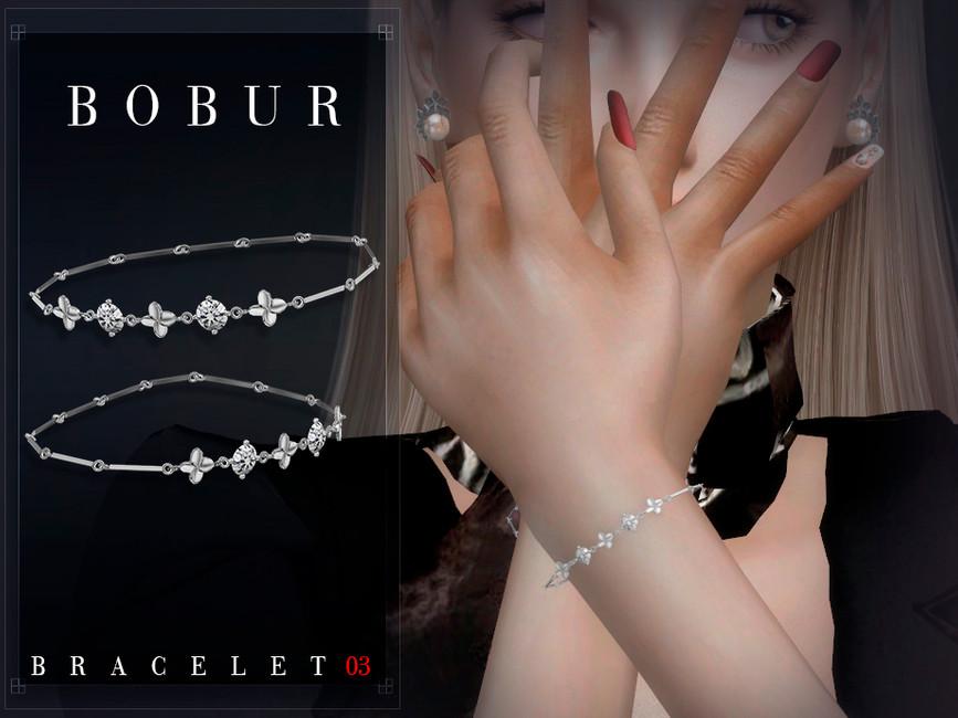 Браслеты Bobur Bracelet 03 Симс 4 (картинка 3)