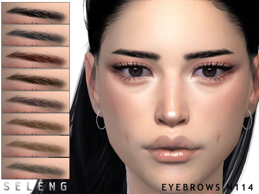 Брови Eyebrows N114 Симс 4