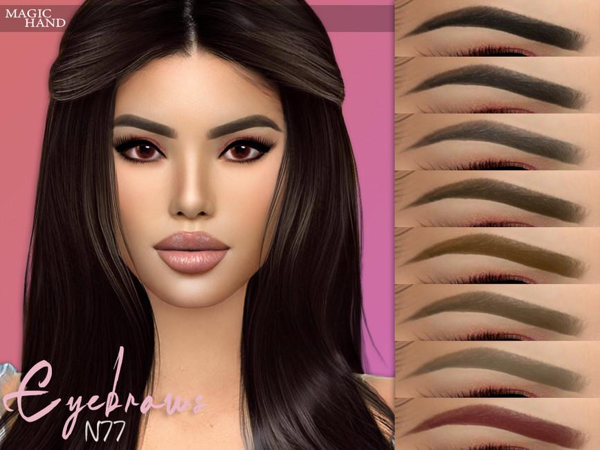 Брови Eyebrows N77 Симс 4