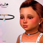 Чокер для детей Cute Toddler Choker Симс 4