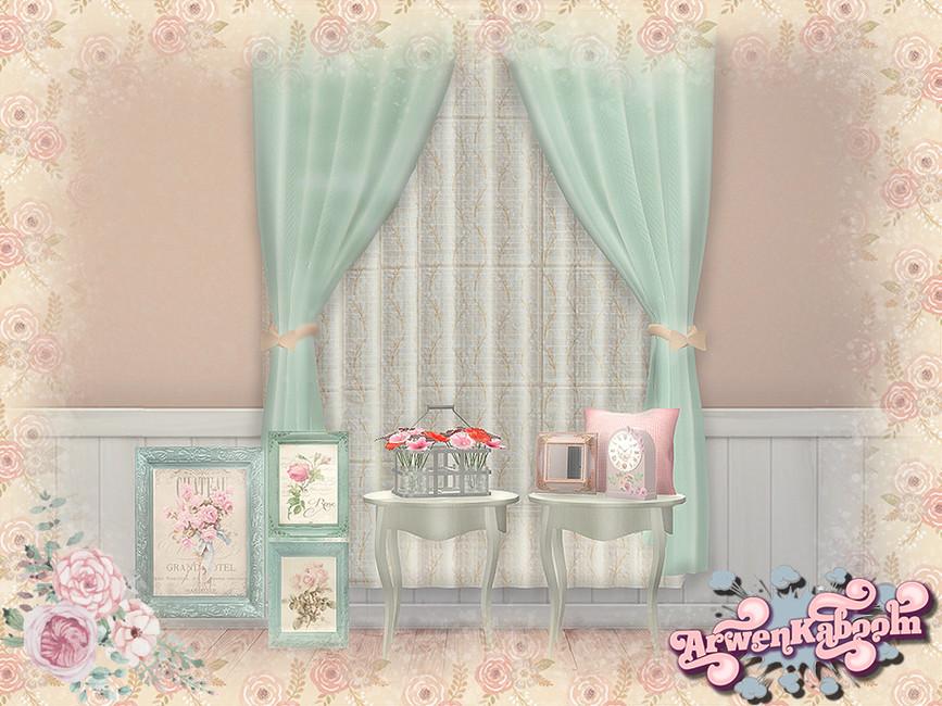 Декор для комнаты Симс 4
