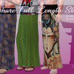 Длинные юбки для Симс 4