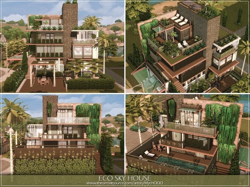 Дом для семьи Симс 4 (картинка 2)