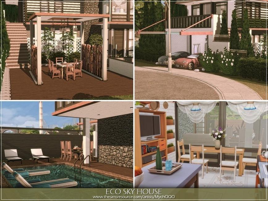 Дом для семьи Симс 4 (картинка 3)