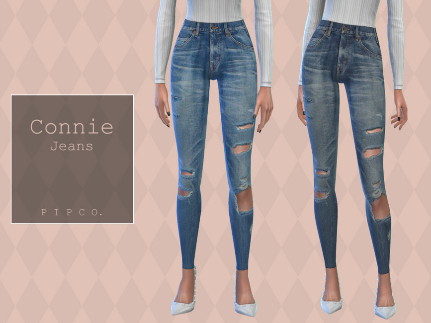 Джинсы Connie Jeans Симс 4