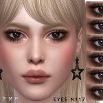 Глаза Eyes N117 Симс 4