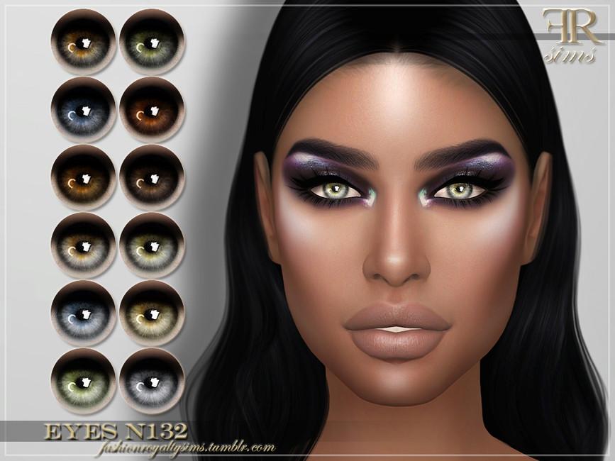 Глаза FRS Eyes N132 Симс 4