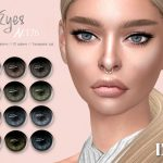 Глаза IMF Eyes N176 Симс 4