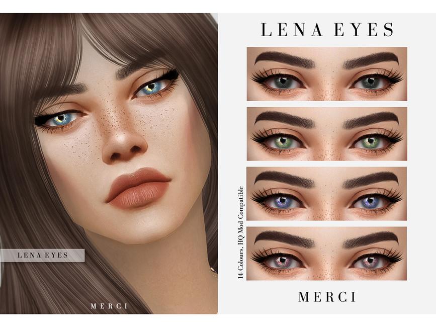 Глаза Lena Eyes Симс 4