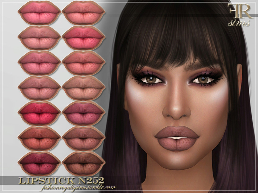 Губная помада FRS Lipstick N252 Симс 4