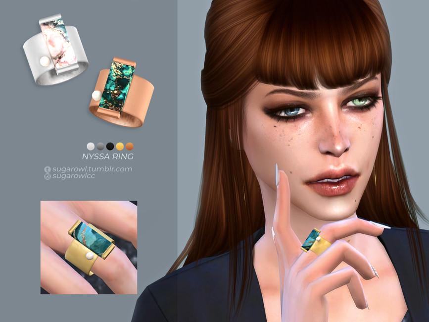 Кольцо Nyssa Ring Симс 4
