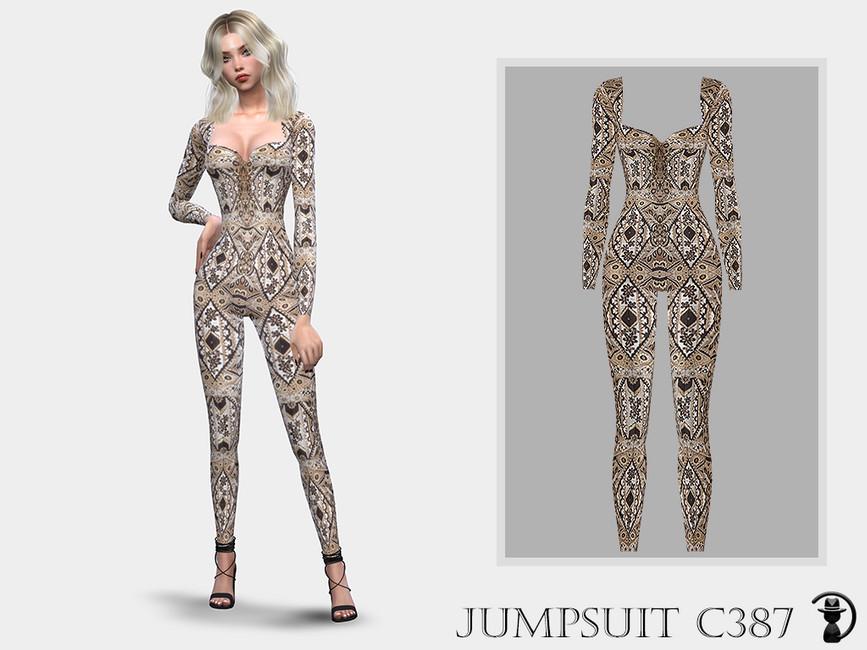 Комбинезон Jumpsuit C387 Симс 4