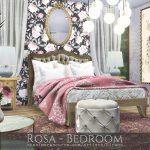 Красивая спальня Симс 4