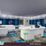Кухня 2034 Kitchen Симс 4