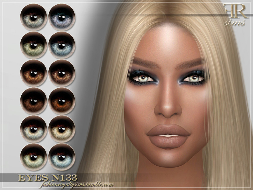 Мод реалистичные глаза Симс 4