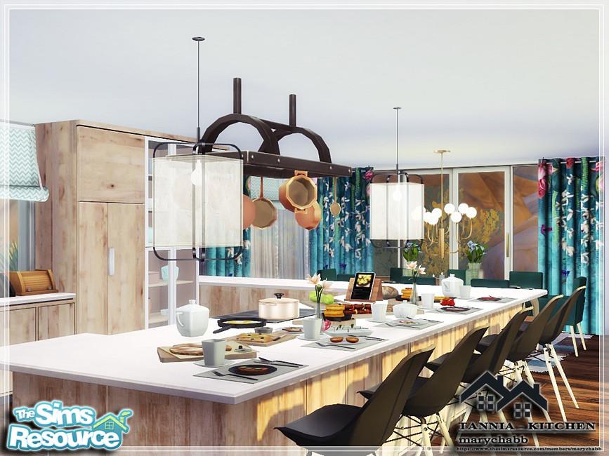 Моды кухня для Симс 4 (картинка 2)