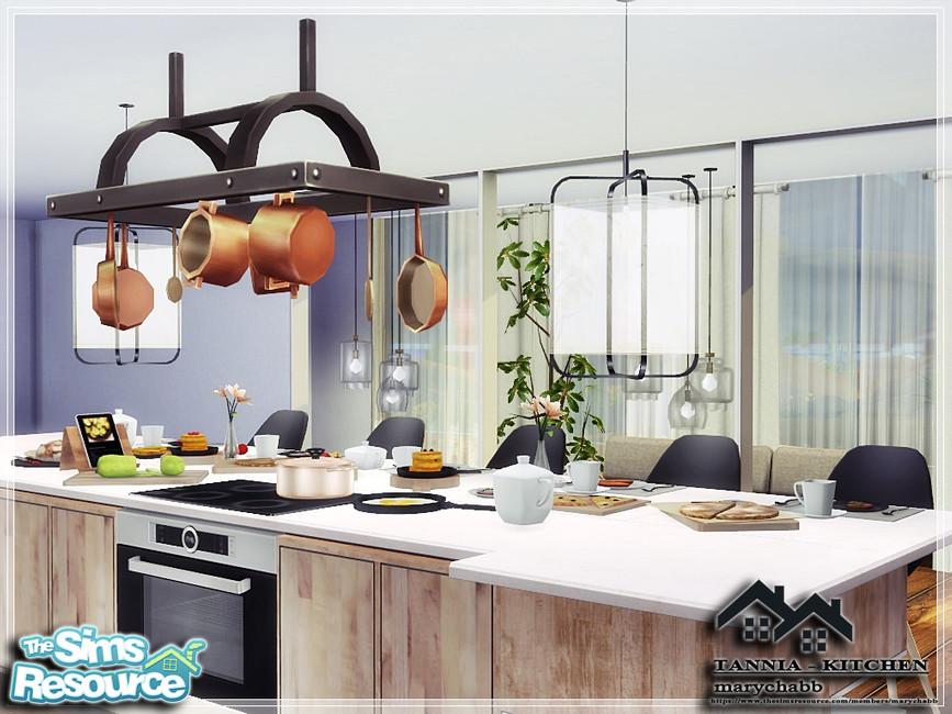 Моды кухня для Симс 4 (картинка 3)