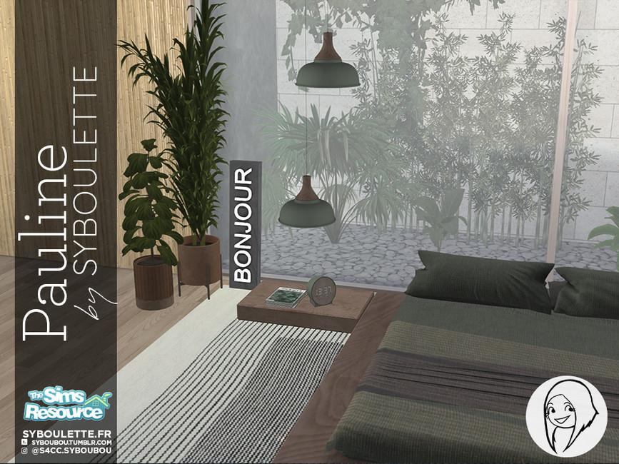 Моды спальня для Симс 4 (картинка 5)