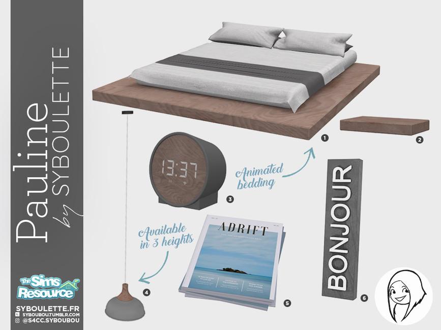 Моды спальня для Симс 4 (картинка 6)