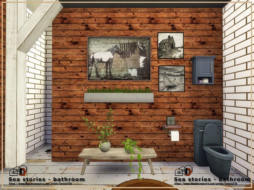 Моды ванная комната для Симс 4 (картинка 3)