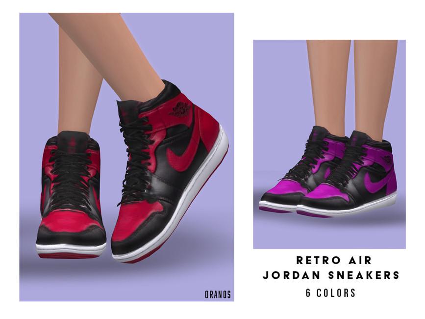 Моды женские кроссовки Симс 4