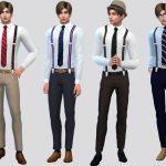 Мужские рубашки Симс 4