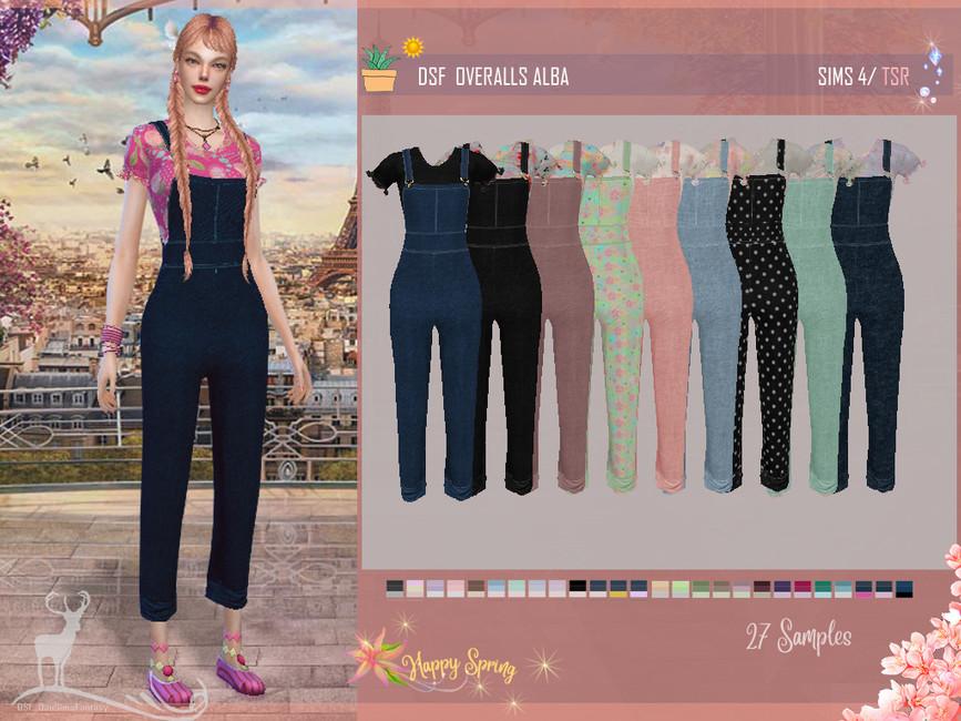 Набор женской одежды Симс 4