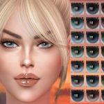 Новые цвета глаз для Симс 4