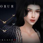 Ожерелье Bobur Necklace 28 Симс 4