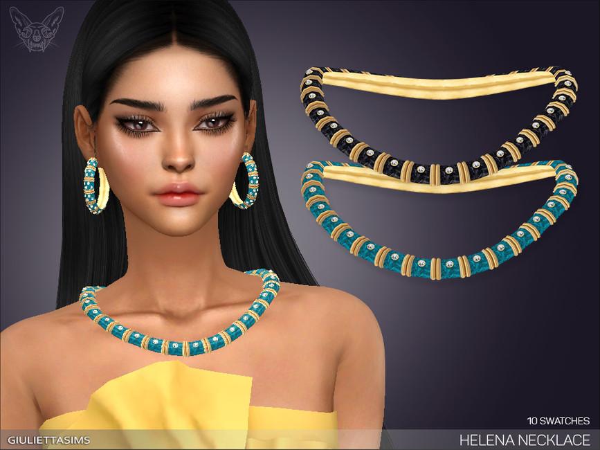 Ожерелье Helena Necklace Симс 4